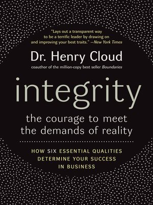 cover image of Integrity