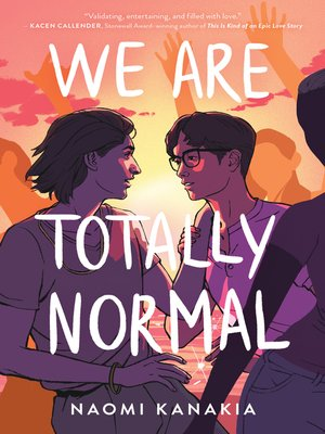 cover image of We Are Totally Normal