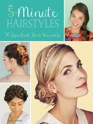 cover image of 5-Minute Hairstyles