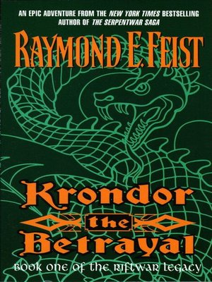 cover image of Krondor: The Betrayal