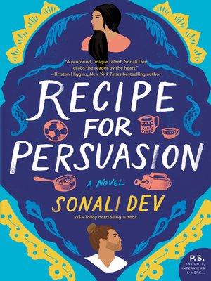 Recipe for Persuasion Book Cover