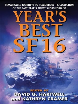 cover image of Year's Best SF 16