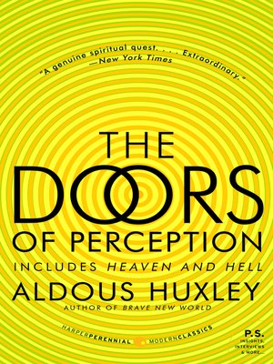 cover image of The Doors of Perception and Heaven and Hell