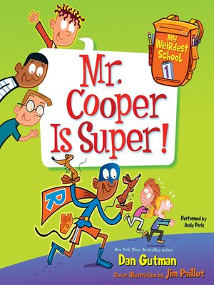 cover image of Mr. Cooper Is Super!