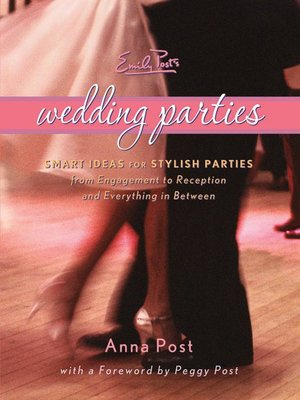 cover image of Emily Post's Wedding Parties