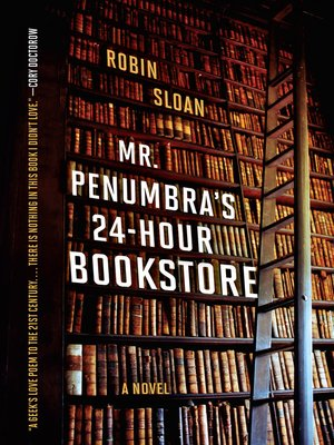 cover image of Mr. Penumbra's 24-Hour Bookstore