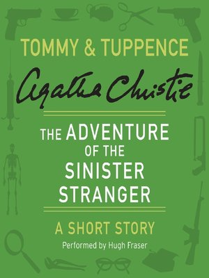 cover image of The Adventure of the Sinister Stranger