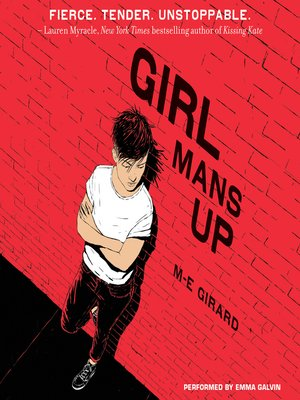 cover image of Girl Mans Up