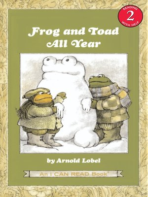 cover image of Frog and Toad All Year