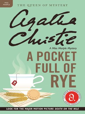 cover image of A Pocket Full of Rye