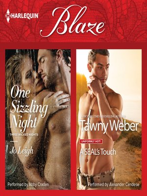 cover image of One Sizzling Night & a SEAL's Touch