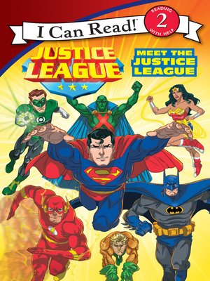 cover image of Meet the Justice League