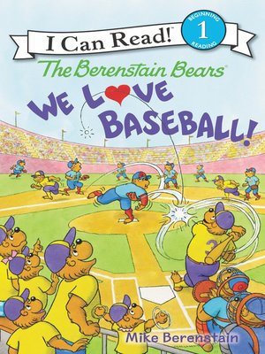 cover image of We Love Baseball!