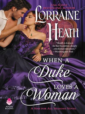 cover image of When a Duke Loves a Woman