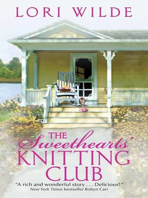 cover image of The Sweethearts' Knitting Club