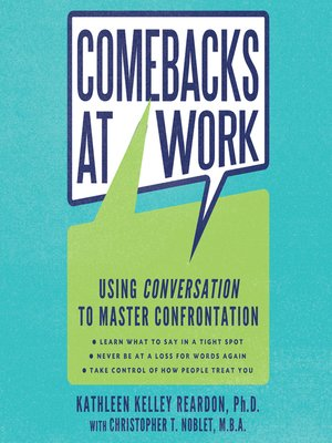 cover image of Comebacks at Work