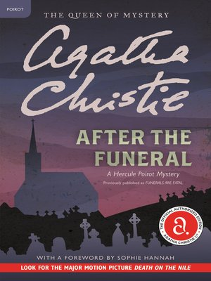 cover image of After the Funeral