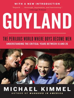 cover image of Guyland