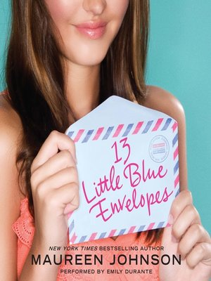 cover image of 13 Little Blue Envelopes