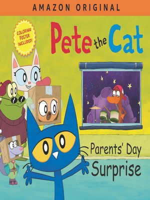 cover image of Pete the Cat Parents' Day Surprise