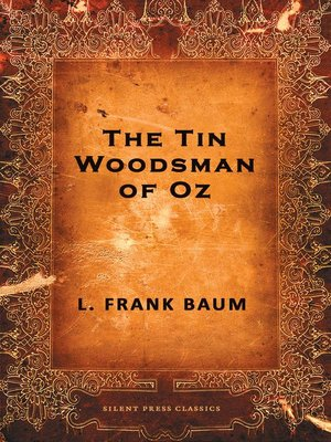 cover image of The Tin Woodsman of Oz