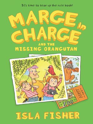 cover image of Marge in Charge and the Missing Orangutan