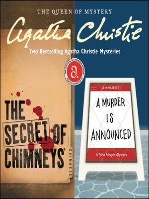 cover image of The Secret of Chimneys & a Murder Is Announced