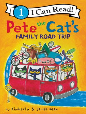 cover image of Pete the Cat's Family Road Trip