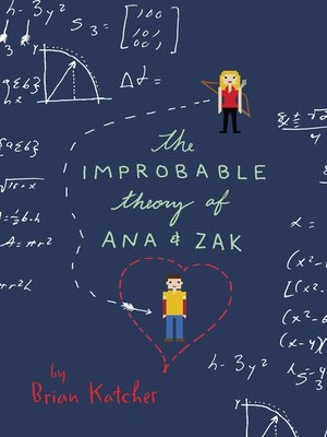 cover image of The Improbable Theory of Ana and Zak