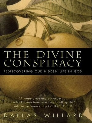 cover image of The Divine Conspiracy