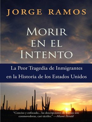 cover image of Morir en el Intento