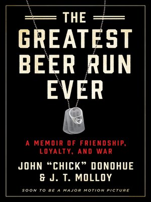 cover image of The Greatest Beer Run Ever