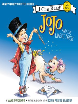 cover image of JoJo and the Magic Trick