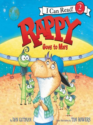 cover image of Rappy Goes to Mars