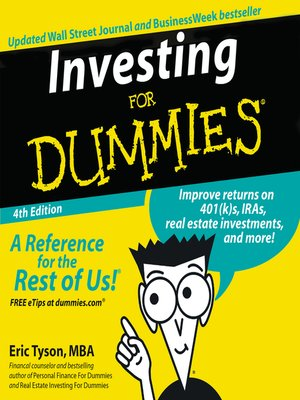 cover image of Investing for Dummies®