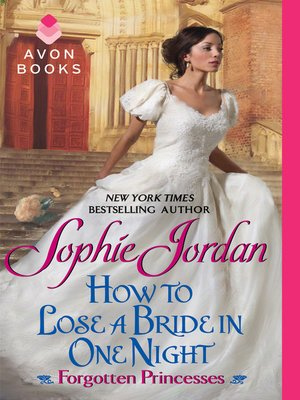 cover image of How to Lose a Bride in One Night