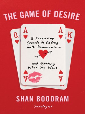 cover image of The Game of Desire