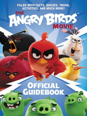 cover image of The Angry Birds Movie Official Guidebook