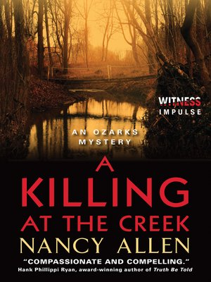 cover image of A Killing at the Creek