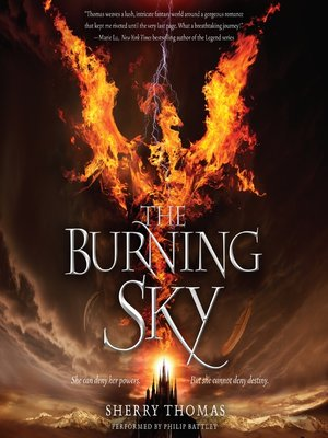 cover image of The Burning Sky