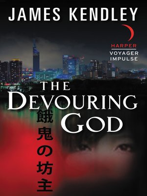 cover image of The Devouring God