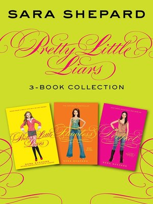 cover image of Pretty Little Liars 3-Book Collection