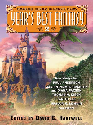 cover image of Year's Best Fantasy 2