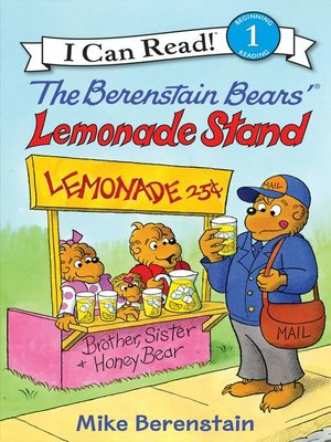 cover image of The Berenstain Bears' Lemonade Stand