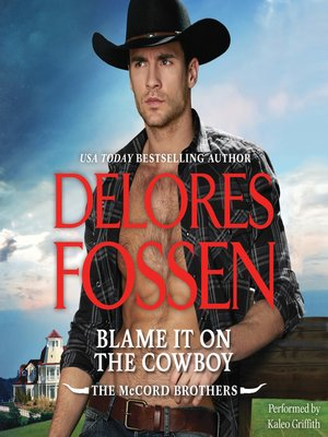 cover image of Blame It on the Cowboy