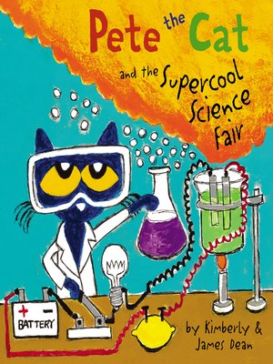 cover image of Pete the Cat and the Supercool Science Fair