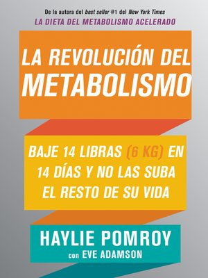 cover image of La revolución del metabolismo