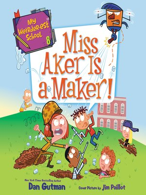 cover image of Miss Aker Is a Maker!