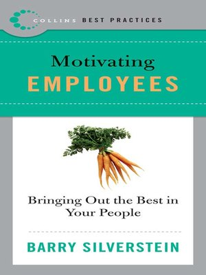 Best Practices: Motivating Employees by Barry Silverstein