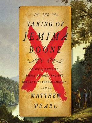 cover image of The Taking of Jemima Boone